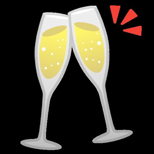 Ta as brindando emoji for Imagenes de copas brindando
