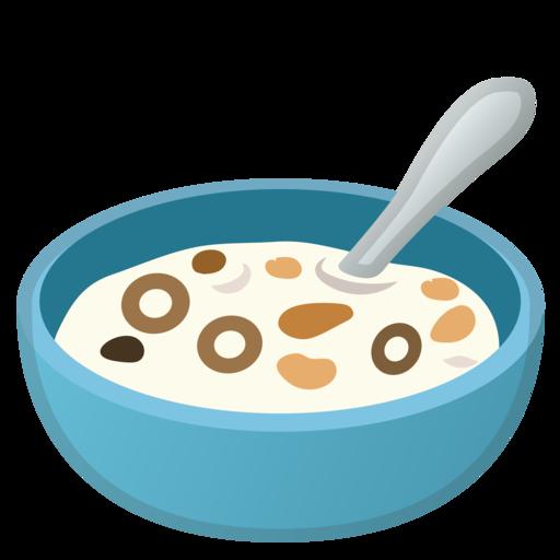 🥣 Bowl With Spoon Emoji
