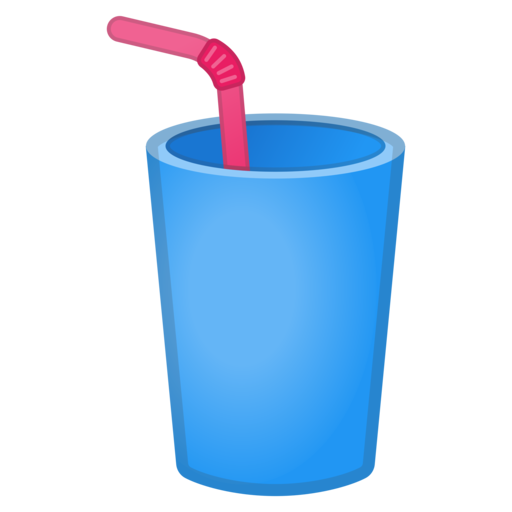 Cup With Straw Emoji