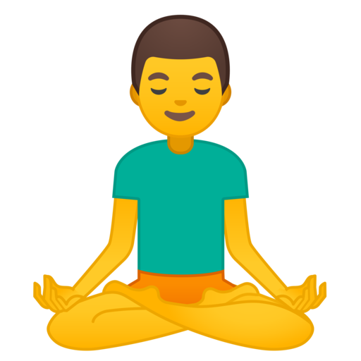 🧘 ♂️ Man In Lotus Position Emoji