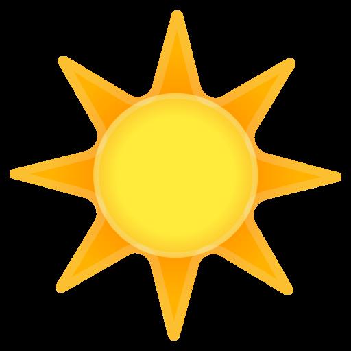 emoji sonne