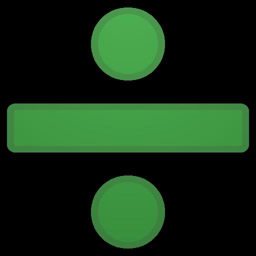 Signe Diviser Emoji