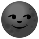 Android Pie; U+1F31A; Emoji