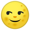 Android Pie; U+1F31D; Emoji