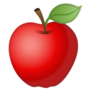 Android Pie; U+1F34E; Emoji