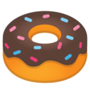 Android Pie; U+1F369; Emoji