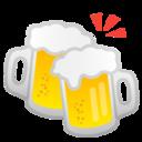 Android Pie; U+1F37B; Emoji