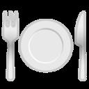 Android Pie; U+1F37D U+FE0F; Emoji