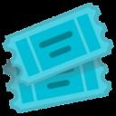 Android Pie; U+1F39F U+FE0F; Emoji