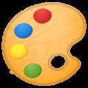 Android Pie; U+1F3A8; Emoji