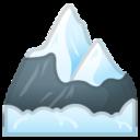 Android Pie; U+1F3D4 U+FE0F; Emoji