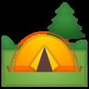 Android Pie; U+1F3D5 U+FE0F; Emoji