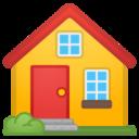 Android Pie; U+1F3E0; Emoji