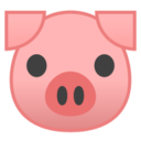Android Pie; U+1F437; Emoji