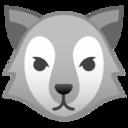 Android Pie; U+1F43A; Emoji