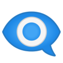 Android Pie; U+1F441 U+FE0F U+200D U+1F5E8 U+FE0F; Emoji