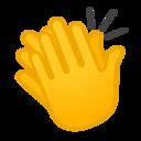 Android Pie; U+1F44F; Emoji