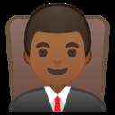 Android Pie; U+1F468 U+1F3FE U+200D U+2696 U+FE0F; Emoji