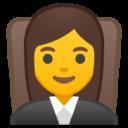 Android Pie; U+1F469 U+200D U+2696 U+FE0F; Emoji