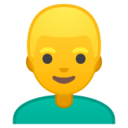 Android Pie; U+1F471; Emoji