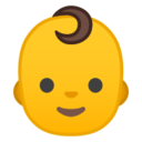 Android Pie; U+1F476; Emoji