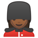 Android Pie; U+1F482 U+1F3FE U+200D U+2640 U+FE0F; Emoji