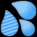 Android Pie; U+1F4A6; Emoji