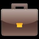 Android Pie; U+1F4BC; Emoji