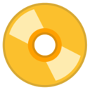 Android Pie; U+1F4C0; Emoji