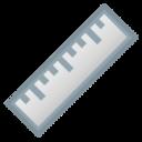 Android Pie; U+1F4CF; Emoji