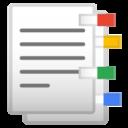 Android Pie; U+1F4D1; Emoji