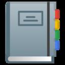 Android Pie; U+1F4D4; Emoji
