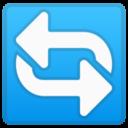 Android Pie; U+1F504; Emoji