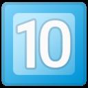 Android Pie; U+1F51F; Emoji