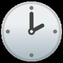 Android Pie; U+1F551; Emoji