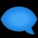 Android Pie; U+1F5E8 U+FE0F; Emoji
