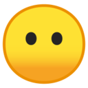 Android Pie; U+1F636; Emoji