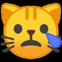 Android Pie; U+1F63F; Emoji