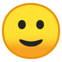 Android Pie; U+1F642; Emoji