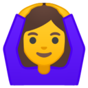 Android Pie; U+1F646; Emoji