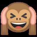 Android Pie; U+1F649; Emoji