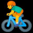 Android Pie; U+1F6B4; Emoji