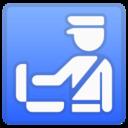 Android Pie; U+1F6C3; Emoji
