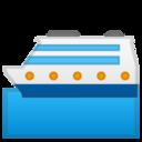 Android Pie; U+1F6F3 U+FE0F; Emoji