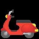 Android Pie; U+1F6F5; Emoji