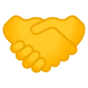 Android Pie; U+1F91D; Emoji