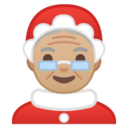 Android Pie; U+1F936 U+1F3FC; Emoji