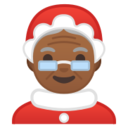 Android Pie; U+1F936 U+1F3FE; Emoji