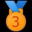 Android Pie; U+1F949; Emoji