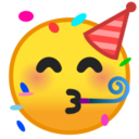 Android Pie; U+1F973; Emoji